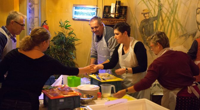 2016-10, 27 oktober: Netwerken tijdens het koken